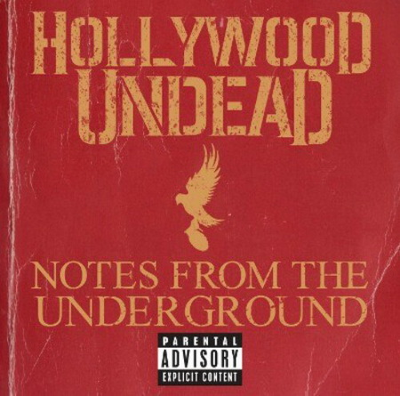 Новый альбом Hollywood Undead - Notes From The Underground (2013)
